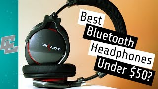 Video Best Bluetooth Headphones Under $50 | Zealot B5 Bluetooth Headphones (2018 Review) download MP3, 3GP, MP4, WEBM, AVI, FLV Juli 2018