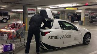 SOLO Goes Shopping - Electric Car