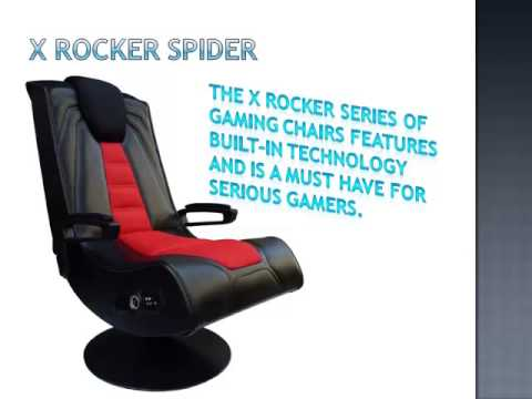 X Rocker Spider Wireless Game Chair
