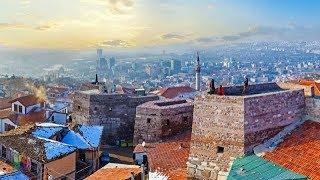 Ankara Castle,Ankara,Turkey walking tour in 4K Ultra HD