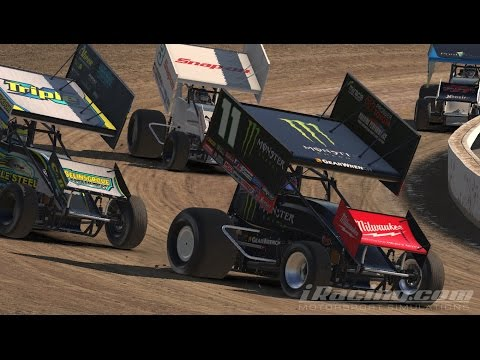 Iracing : 20 laps @ Volusia Speedway Park ( Sprint car 305 )