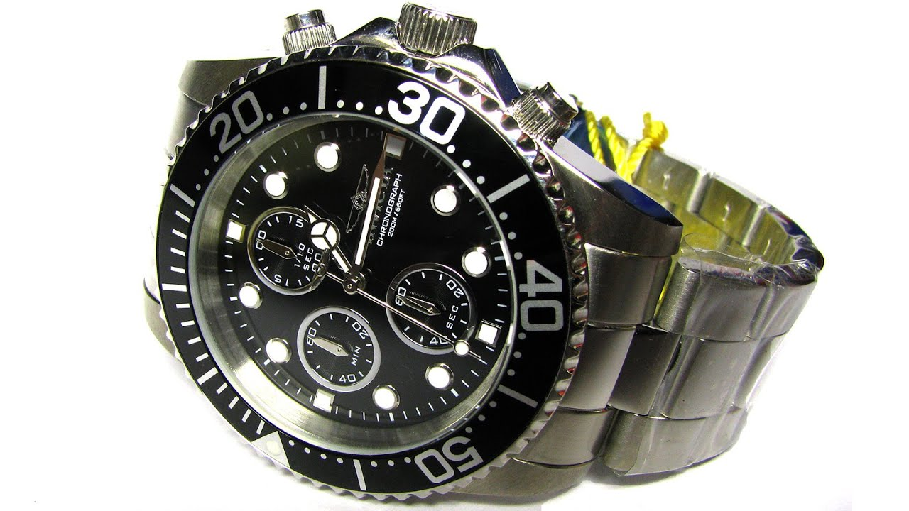 Invicta 1768 Pro Diver Collection Stainless Steel Watch