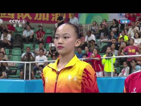 Event Finals Day-2 @ 2017 China National Games