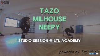 TAZO, MILHOUSE, NEEPY - LTL Studio Session / GoPro Bboy Shoot