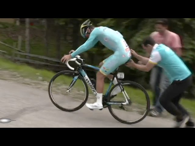 Giro 2016 Cadence Proof & Nibali Snapping His S-Works