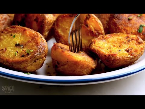 Perfectly Roasted Potatoes at Home With/ Without Oven Lunch Videos