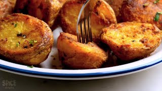 Make Perfectly Roasted Potatoes at Home With/ Without Oven