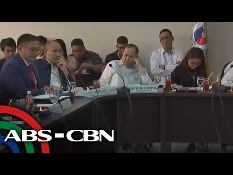 ABS-CBN News: Admin officials brief lawmakers on West Philippine Sea (Part 3) | 30 May 2018