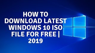 How To Download Windows 10 ISO File   FREE (100% Safe & Secure)