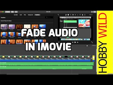 How To Fade Audio In iMovie