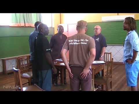 Rene Giessen - Kompositionskurs in Namibia /Composition course Namibia