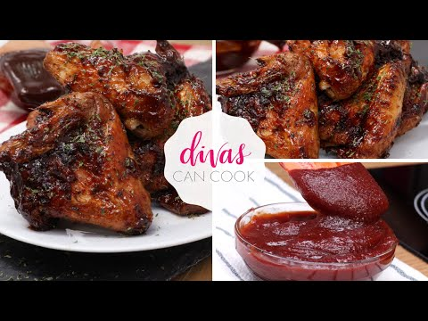 How to make bbq chicken wings in an air fryer
