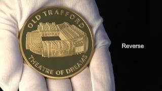 Manchester United 5oz Gold Medallion