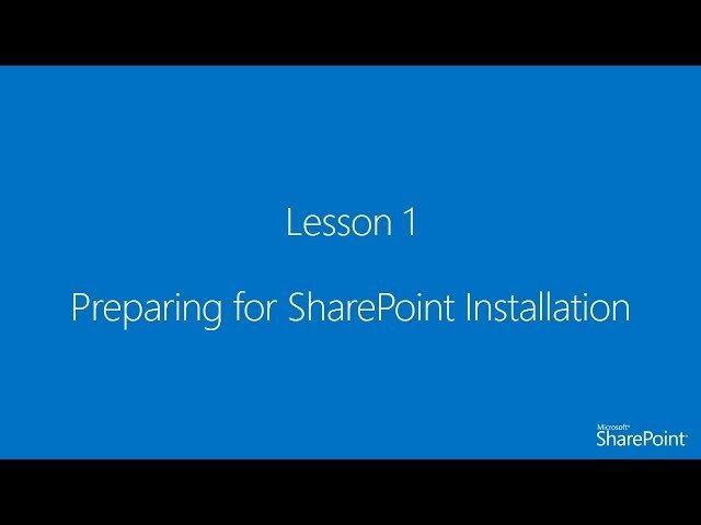 [Arabic] SharePoint Server 2013 Administration Course
