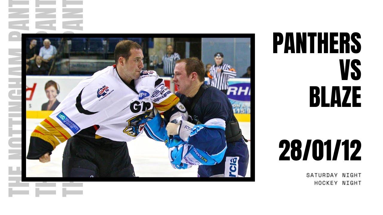 FULL GAME: The Nottingham Panthers vs Coventry Blaze | EIHL | 28/01/12
