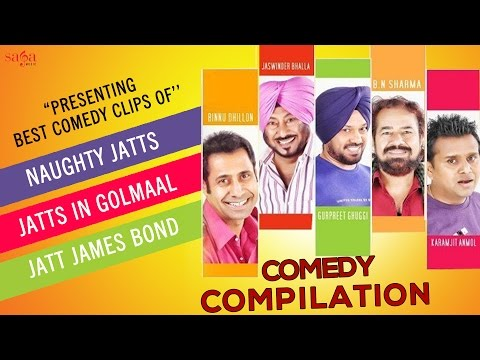 Best Of Punjabi Comedy | All Time Best Comedy Clips | Funny Punjabi Comedy Scenes 2015