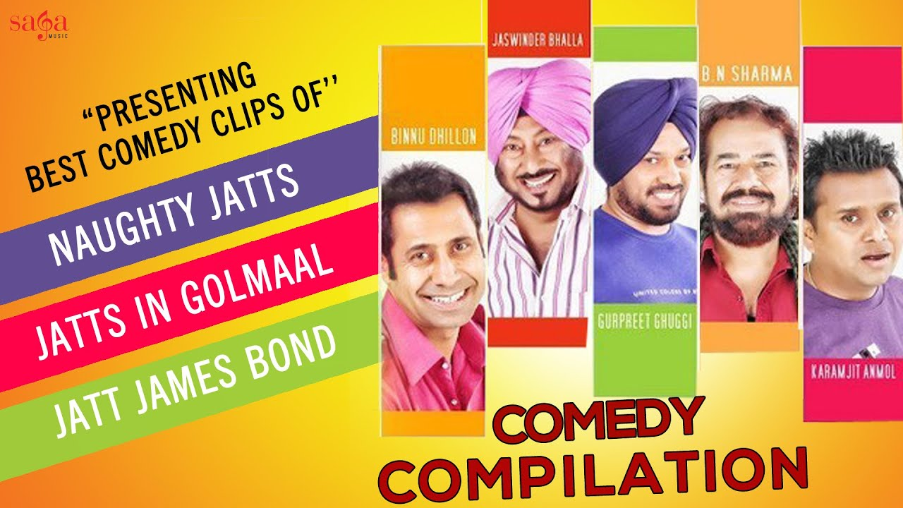 Download Best Of Punjabi Comedy | All Time Best Comedy Clips | Funny Punjabi Comedy Scenes 2015 | Sagahits