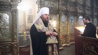 Слово митрополита Ферапонта в субботу 4-ой седмицы Великого поста
