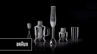Braun Multiquick 5 Hand Blender Mq 545 Aperitive Lighter Handier Easier Introduction Youtube