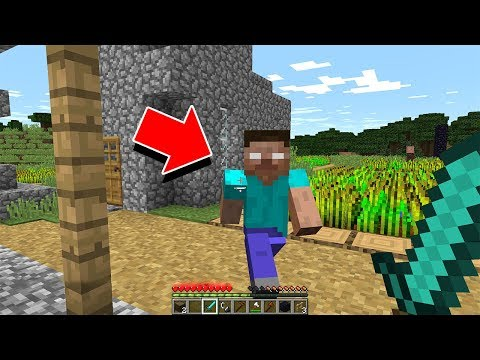 The First Herobrine Sighting Of 2020 In Minecraft...