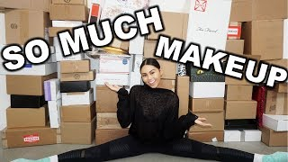 HUGE PR UNBOXING HAUL | New Makeup January 2018 | Roxette Arisa Vlogs