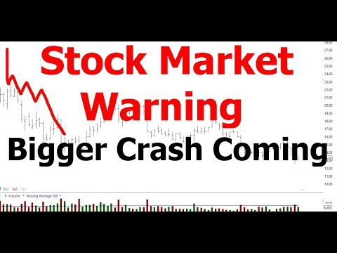 Stock Market Warning | Bigger Crash Coming | Silver and Gold Stocks To Buy