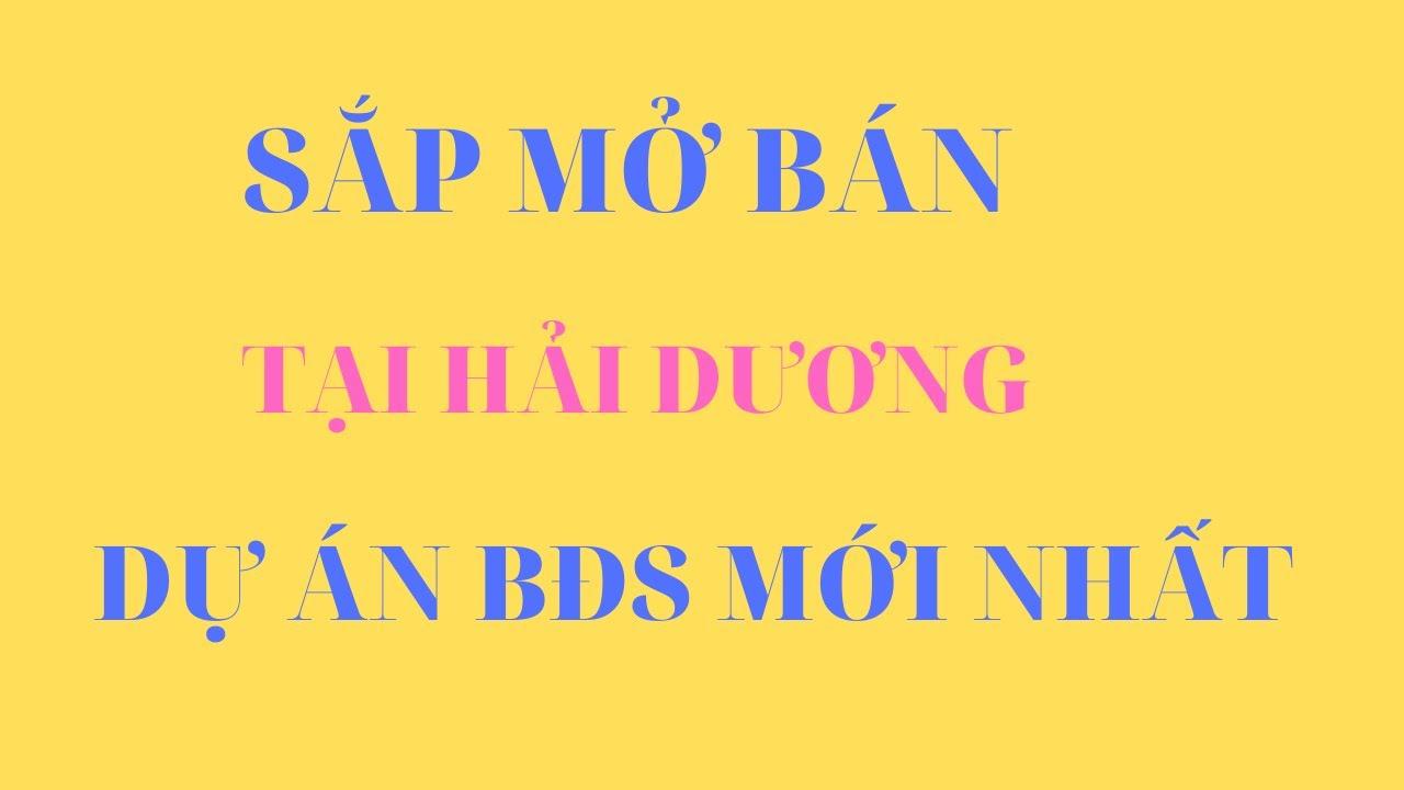 Khu đô thị mới Cẩm Điền – Hải Dương.