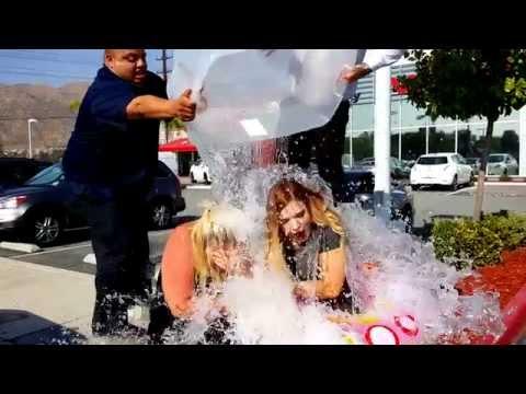 Kalyn & Dusty: Ice Bucket Challenge