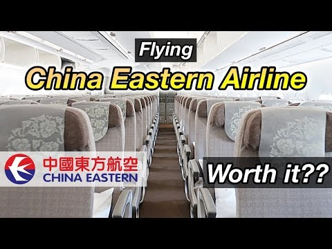 Flying With China Eastern Airline - Is It Worth It? | Airline Review (AIRBUS A350)