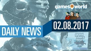 CoD: WW2, Star Citizen, Entwickler von GTA 5 verklagt | Gamesworld Daily News - 02.08.2017
