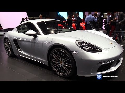 2017 Porsche 718 Cayman S - Exterior and Interior Walkaround