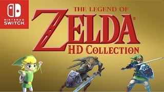 The Legend of Zelda: HD Collection Trailer  (Fanmade)