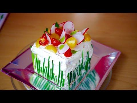 gâteau-d'anniversaire-salé-►-recette