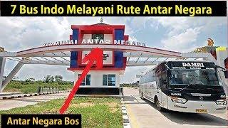 7 BUS Melayani Rute Antar Negara Indonesia ke Negara Tetangga atau Sebaliknya
