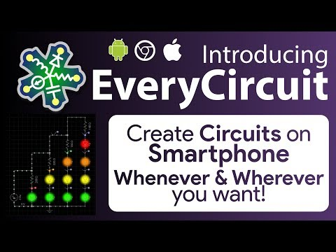 EveryCircuit | A App & Website That Lets You Create & Simulate Electrical Circuits Very Easily