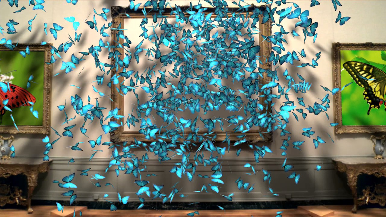 Download butterfly thinking particles xpresso by Cinema 4D
