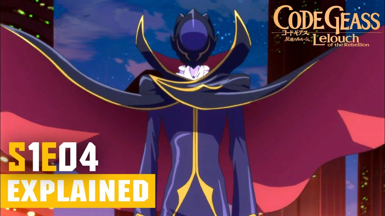 Download Code Geass Episode 4 [Hindi] Explained!!   Code Geass: Lelouch of the Rebellion R1