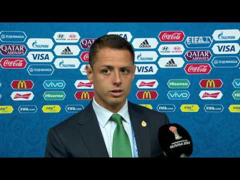 Javier Hernández Post-Match Interview - Match 2: Portugal v Mexico - FIFA Confederations Cup 2017