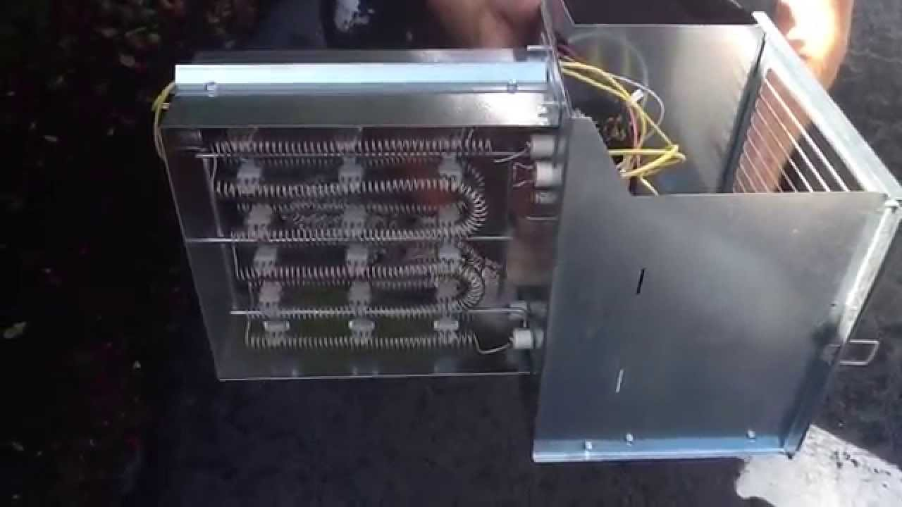 trane heat pump thermostat wiring diagram 120 volt installing strip youtube