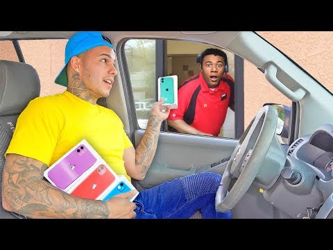 Surprising Drive Thru Employees With iPhone 11's