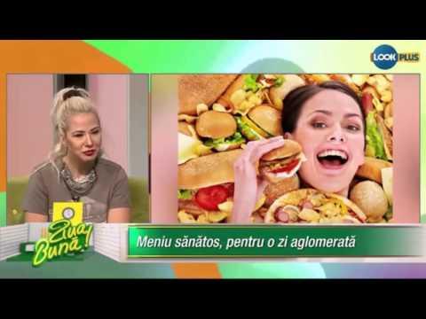 Cum sa mananci mai sanatos la job - Nutritionist Sigina Pop