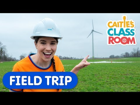 Learn About Wind Farms | Caitie s Classroom | Science For Kids