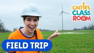 Learn About Wind Farms | Caitie's Classroom | Science For Kids
