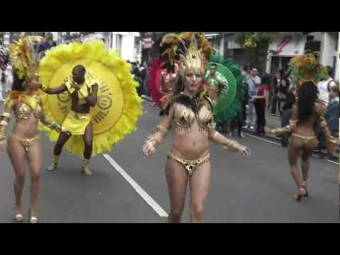 Notting Hill Carnival 2012 - Samba Dancers - Jimmy Ray - Are You Jimmy Ray
