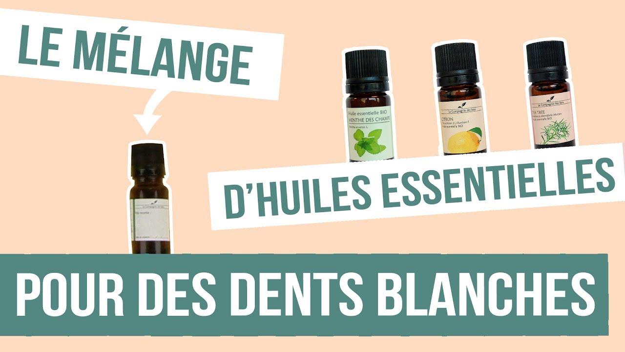 diy dents blanches fabriquer son rem de naturel aux huiles essentielles youtube. Black Bedroom Furniture Sets. Home Design Ideas