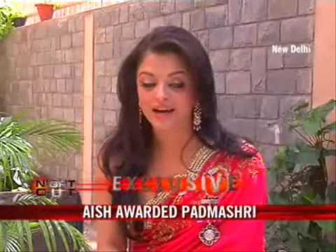Ash awarded Padma Shri