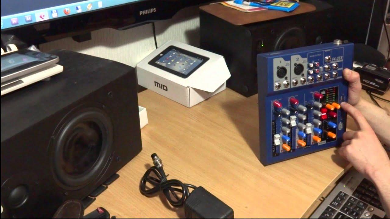 12 ноя 2012. Компактный, недорогой микшерный пульт behringer xenyx qx1002usb http://bit. Ly/1xowekj подойдёт для домашней студии или.