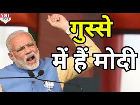BJP MP पर जमकर बरसे Modi, कहा-करिए अपने मन की, 2019 में देख लूंगा
