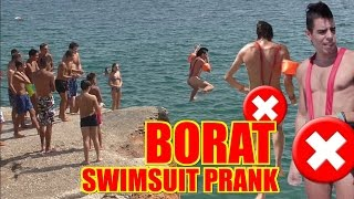 BORAT SWIMSUIT PRANK