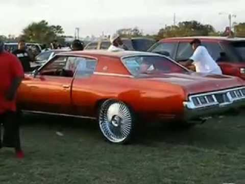 Donk Car Show Hip Hop Custom Cars With Super Bass